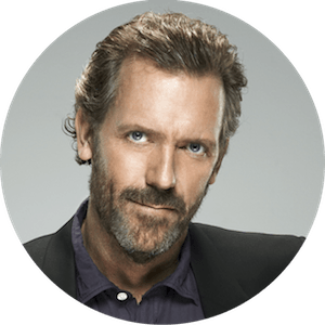 logo Hugh Laurie