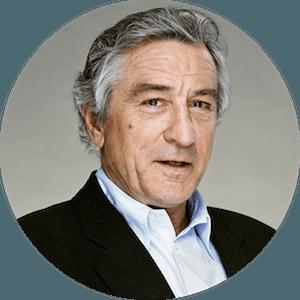 logo Robert De Niro